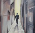 Le spalle di uomo che cammina davanti a me-2008