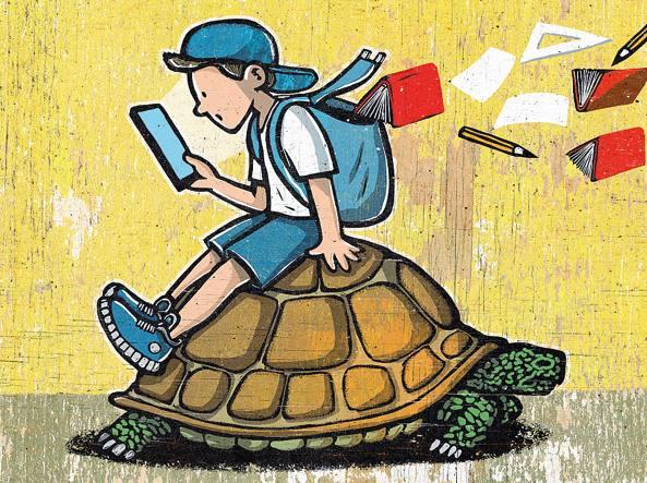 scuola e cellulare mail-U4309013522610IIE-452x370@Corriere-Print-Nazionale-593x443
