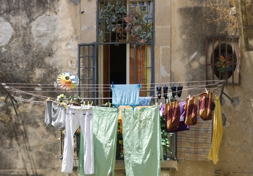 laundry-on-clothesline